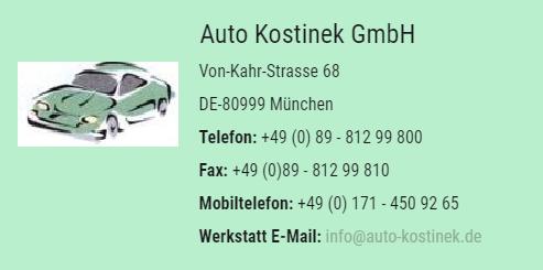 Auto Kostinek, München