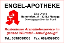 Engel Apotheke, Planegg