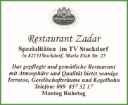 Zadar - Restaurant, Stockdorf